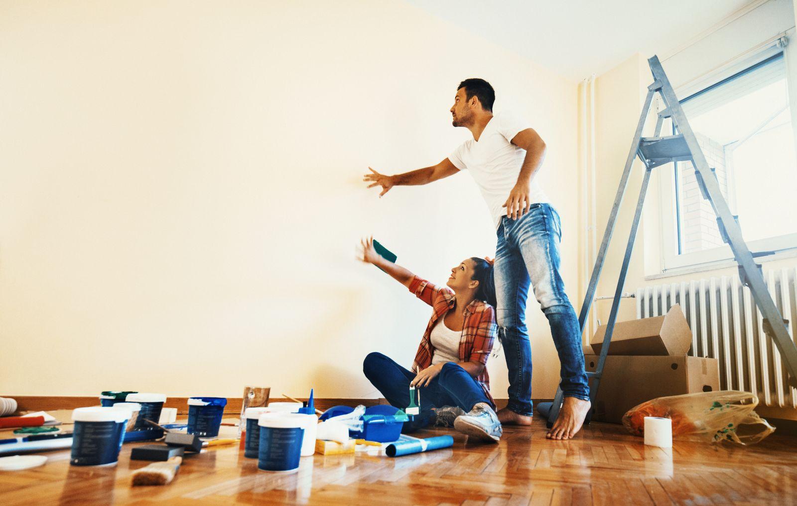 repeindre son nouveau logement après un déménagement