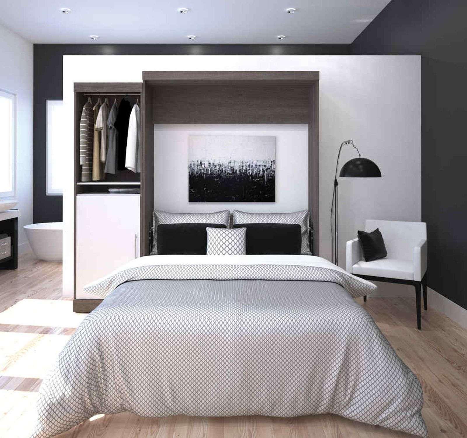 lit escamotable Bestar dans un petit espace
