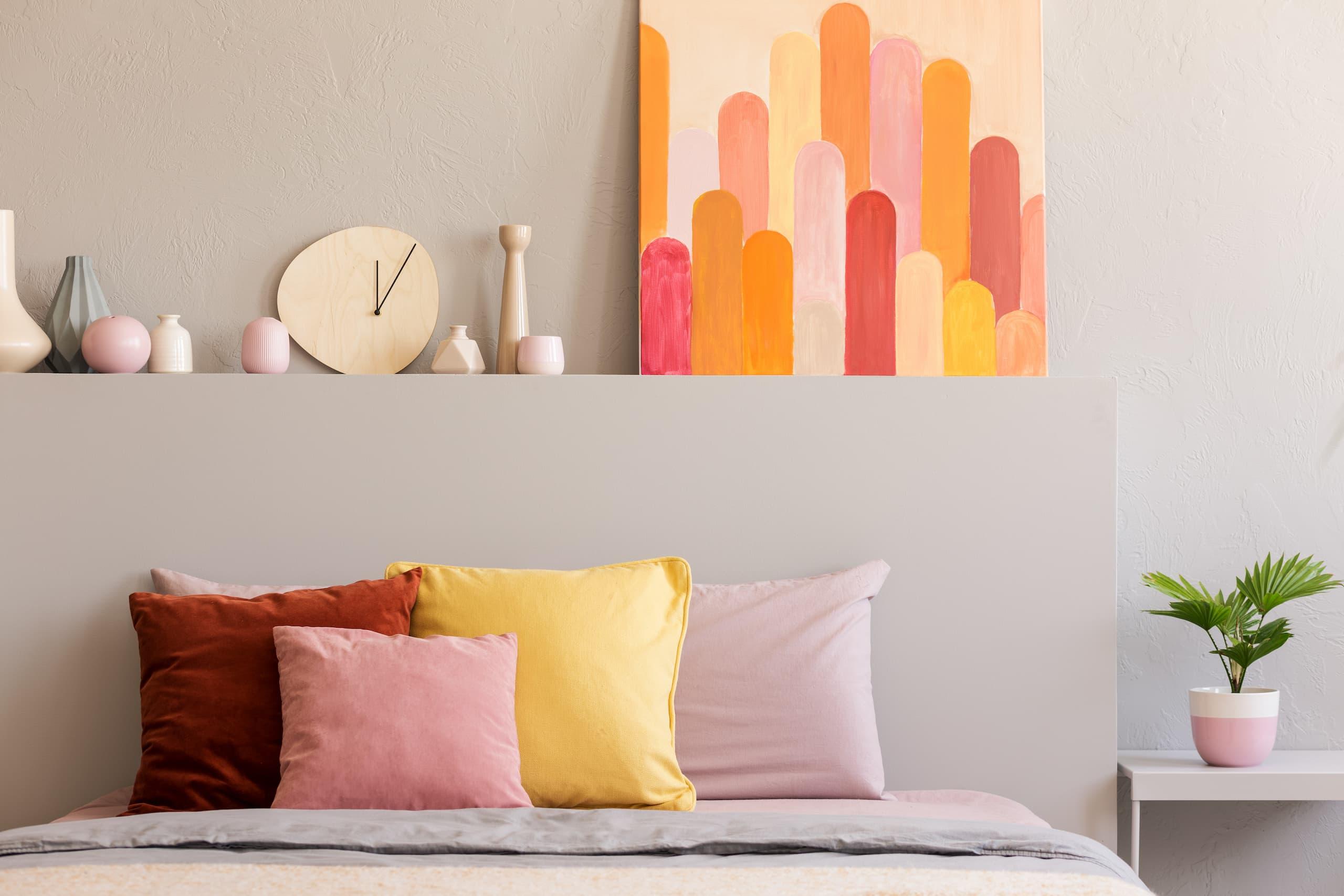 Éléments décoratifs colorés