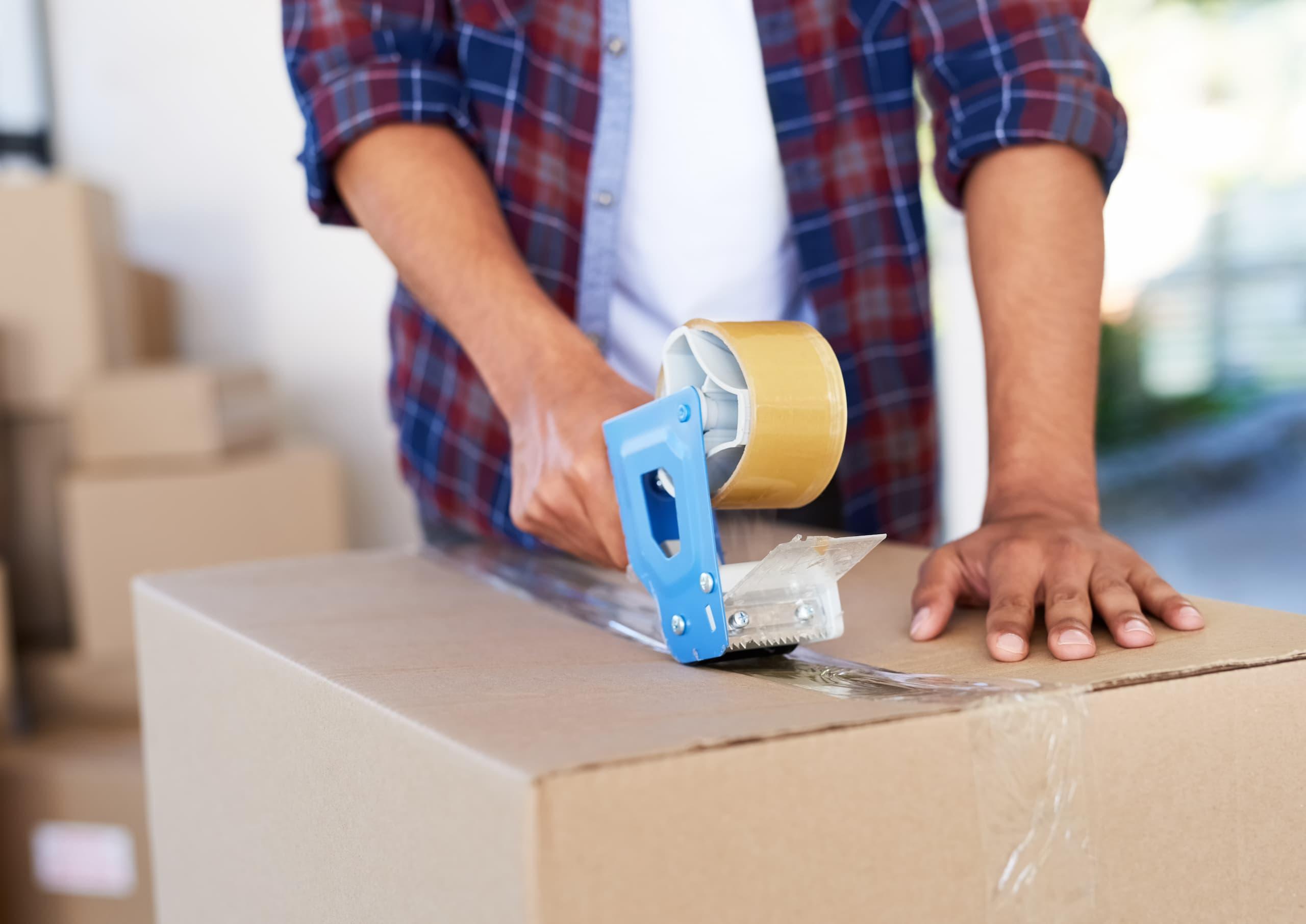 Préparer ses boîtes pour un déménagement